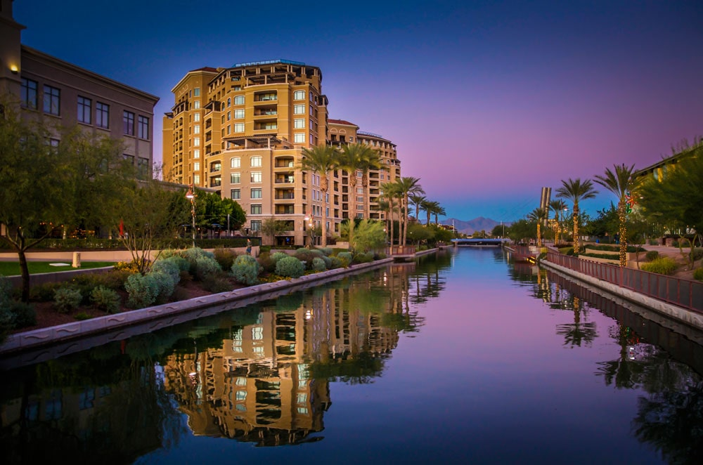 Nestled in the natural splendor of the Sonoran Desert, bordered by Phoenix to the west and the McDowell Mountains on the east, Scottsdale is a city that's synonymous with luxury.