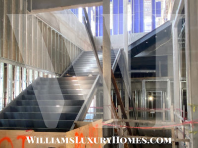 Stairs to Grand Lobby | Construction Image Update | 6/21