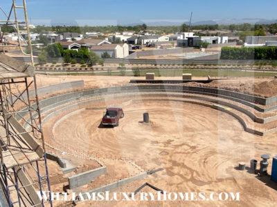 amphitheater ritz carlton paradise valley resort construction
