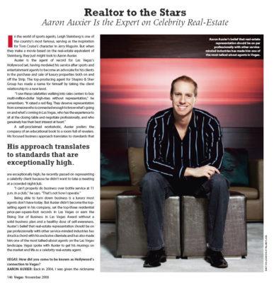 aaron auxier vegas magazine