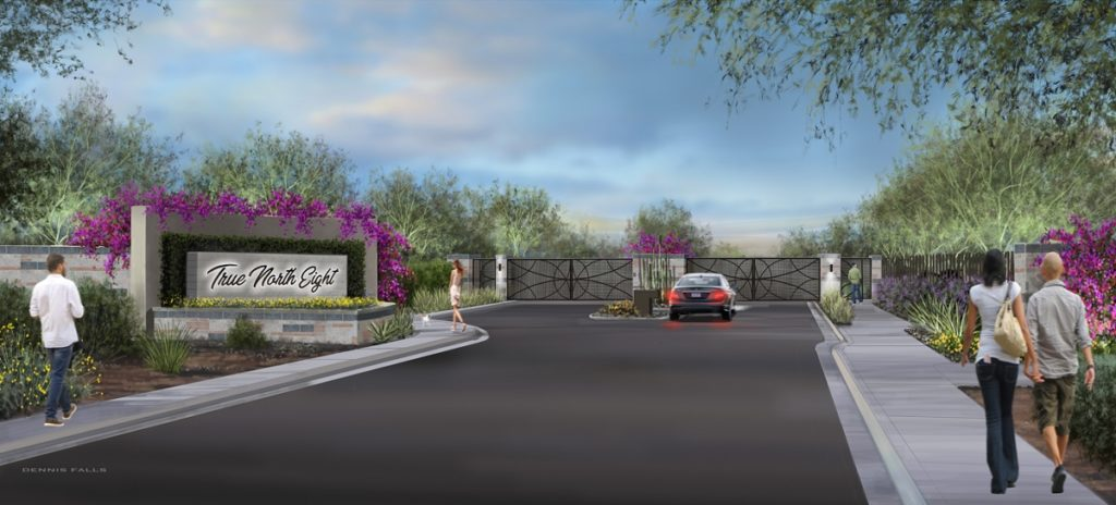 true north eight rendering scottsdale gated home