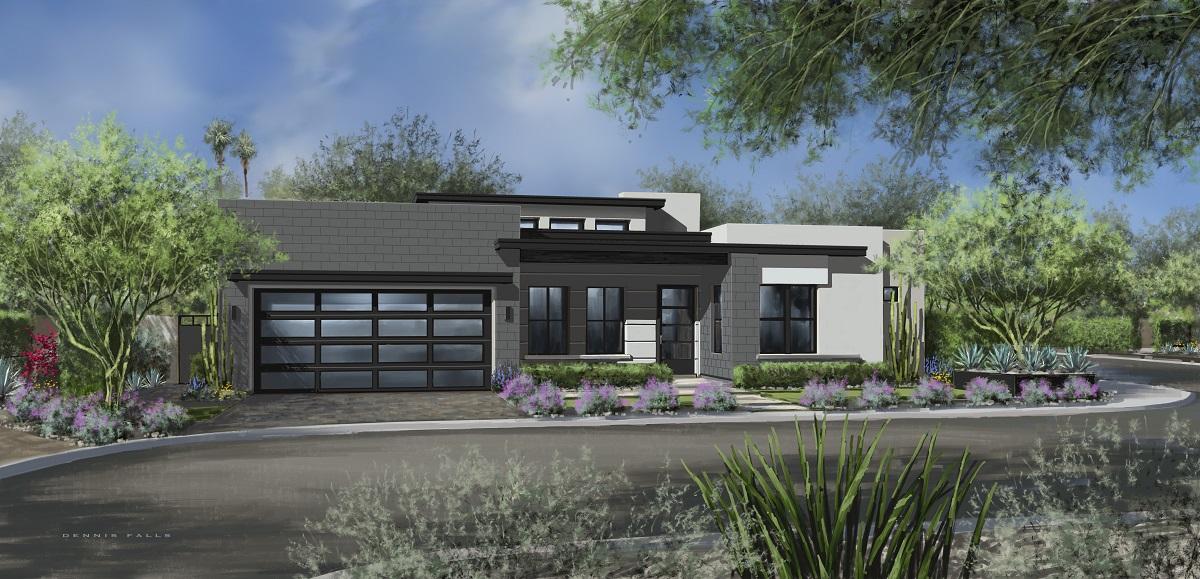 true north eight scottsdale arizona luxury semi-custom homes lots parcels community